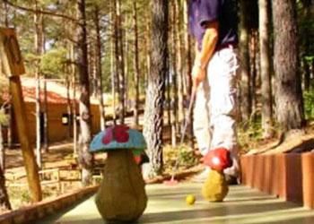 Minigolfe Pena Aventura Park