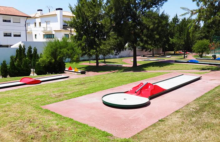 Minigolfe de lhavo renovado for Piscina municipal de ilhavo