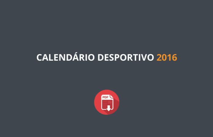 Calendário Desportivo 2016