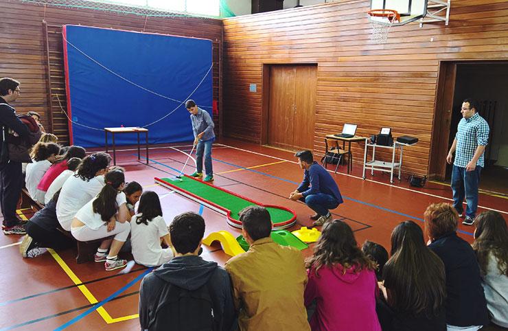 Minigolfe regressa ao Desporto Escolar 15 anos depois