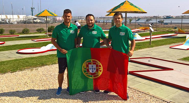 Tudo pronto para a estreia no Mundial de Minigolfe para Surdos
