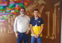Tiago-Melo-recebido pelo Presidente da Camara