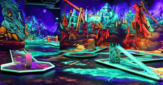 Glowzone Minigolfe 4D
