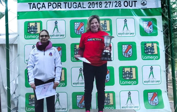 Anabela Pereira Taça de Portugal Minigolfe