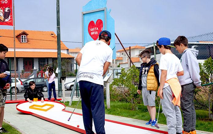 Desporto Escolar Minigolfe Aveiro